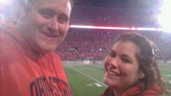 Ohio Stadium, section: 15AA, row: 1, seat: 1