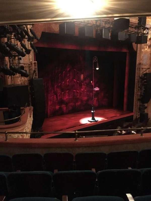 Longacre Theatre, section: Mezzanine L, row: E, seat: 26