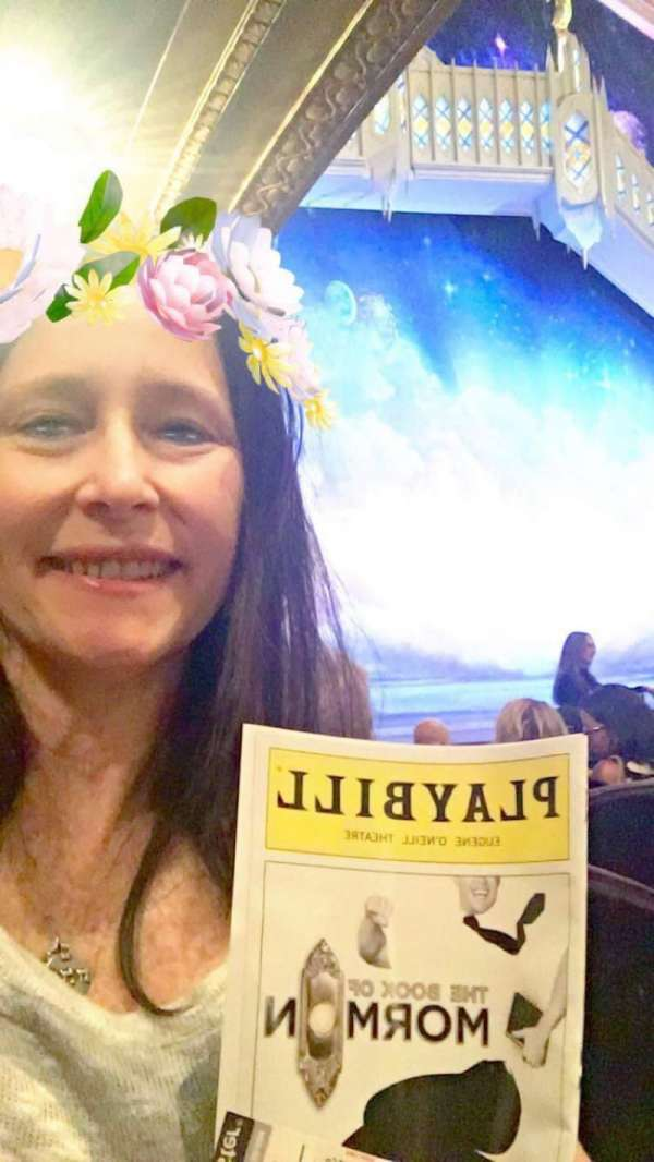 Eugene O'Neill Theatre, section: Orchestra R, row: J, seat: 26