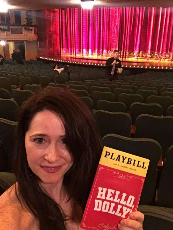 Shubert Theatre, section: Orchestra R, row: T, seat: 14