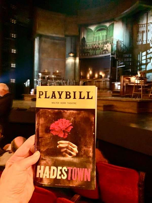 Walter Kerr Theatre, section: Orchestra R, row: 4, seat: 12