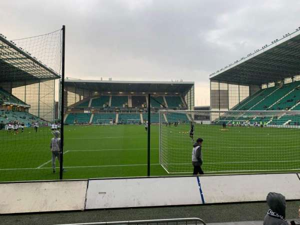 Easter Road Stadium, section: South Stand, row: C, seat: 76