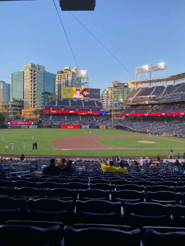 PETCO Park, section: 112, row: 36, seat: 13
