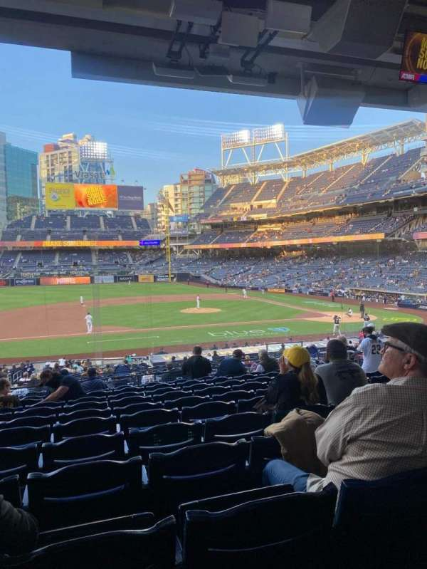 PETCO Park, section: 110, row: 38, seat: 10
