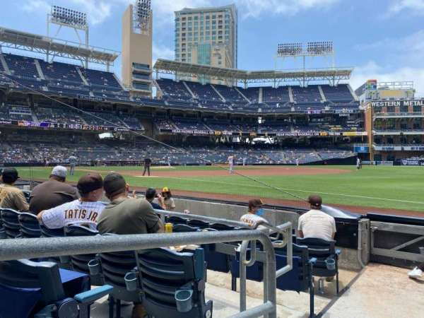 PETCO Park, section: 117, row: 6, seat: 1