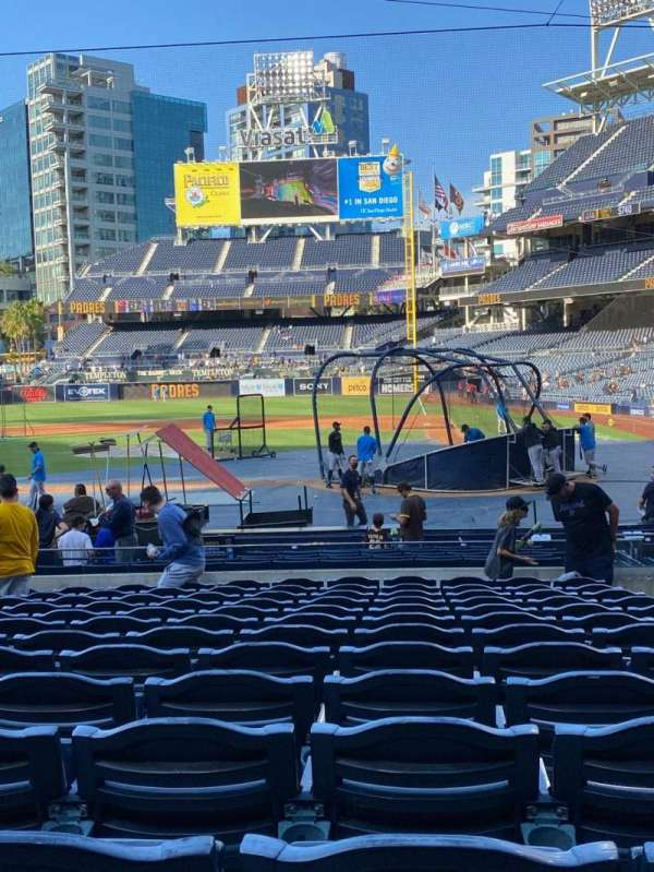 PETCO Park, section: 106, row: 20, seat: 4