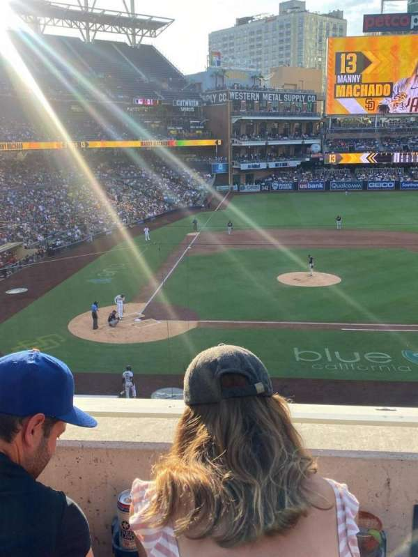 PETCO Park, section: 205, row: 2, seat: 4