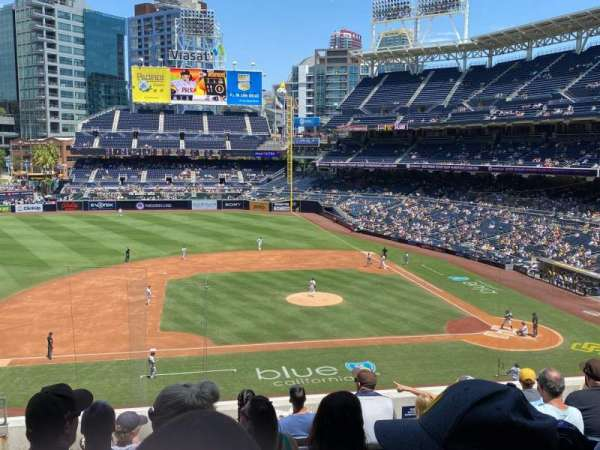 PETCO Park, section: 208, row: 8, seat: 19