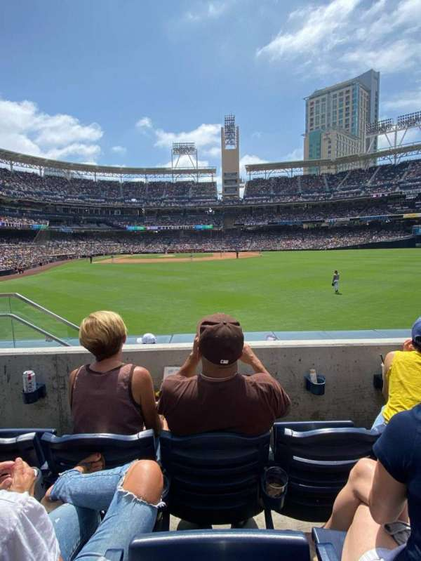 PETCO Park, section: 133, row: 3, seat: 5