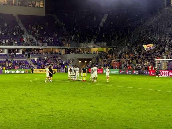 Exploria Stadium, section: 33, row: M, seat: 11