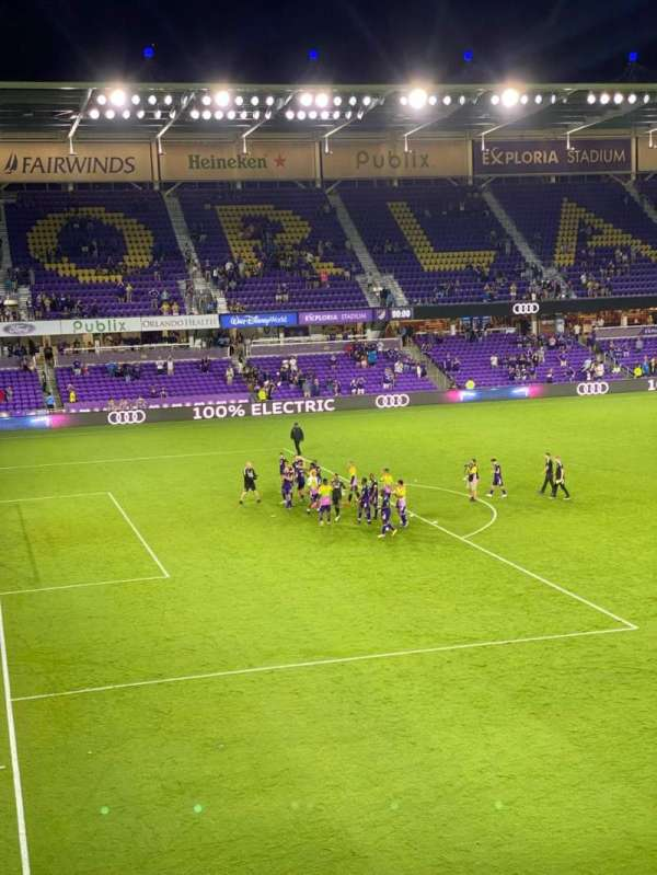 Exploria Stadium, section: 121, row: D, seat: 7