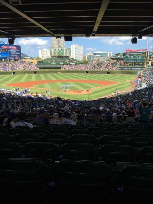 Wrigley Field, section: 215, row: 16, seat: 18