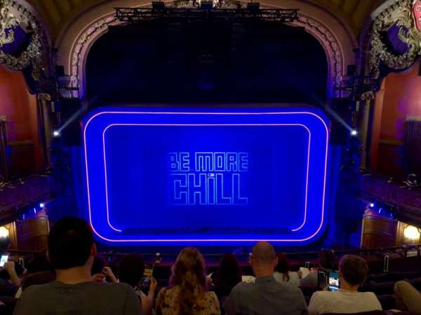 Lyceum Theatre (Broadway), section: Mezzanine C, row: G, seat: 108