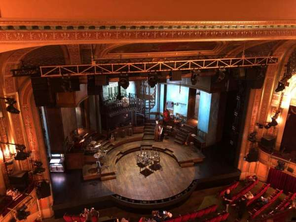 Walter Kerr Theatre, section: Balcony L, row: A, seat: 15