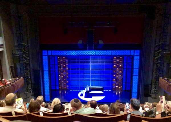 Stephen Sondheim Theatre, section: Mezzanine C, row: HH, seat: 111
