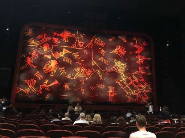 Minskoff Theatre, section: Orchestra C, row: O, seat: 112