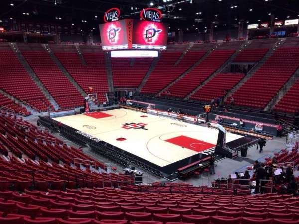 Viejas Arena, section: J, row: 24, seat: 13