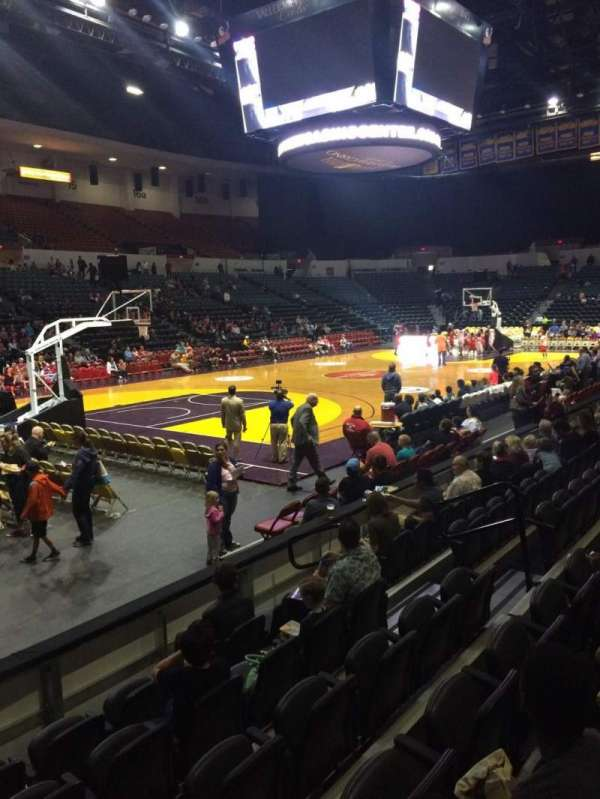 Pechanga Arena, section: LL4, row: 6, seat: 9