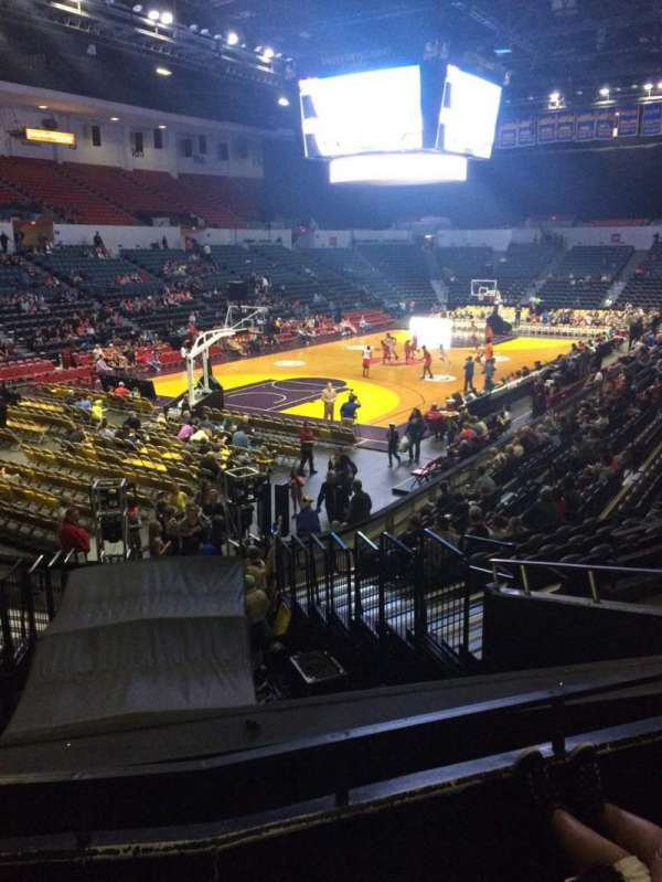 Pechanga Arena, section: L5, row: 7, seat: 8