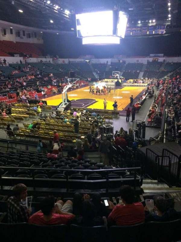 Pechanga Arena, section: L6a, row: 6, seat: 5