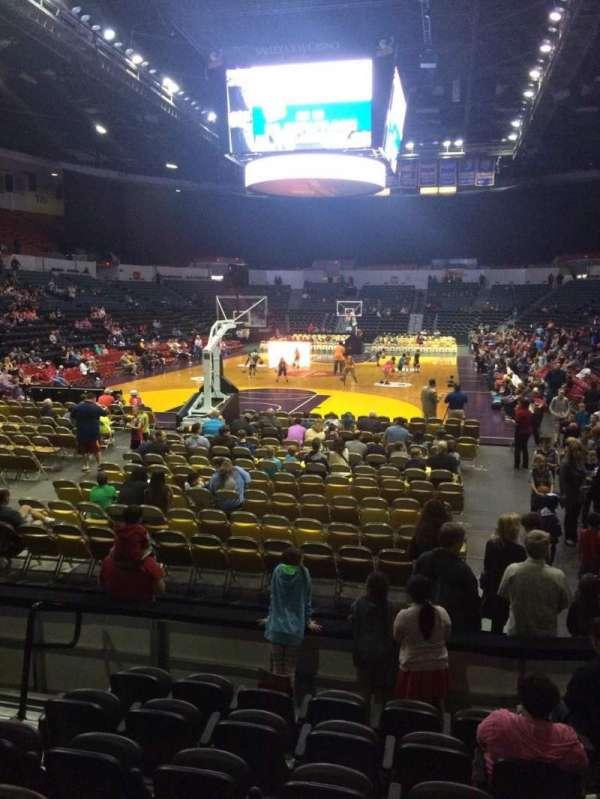 Pechanga Arena, section: LL6, row: 7, seat: 10