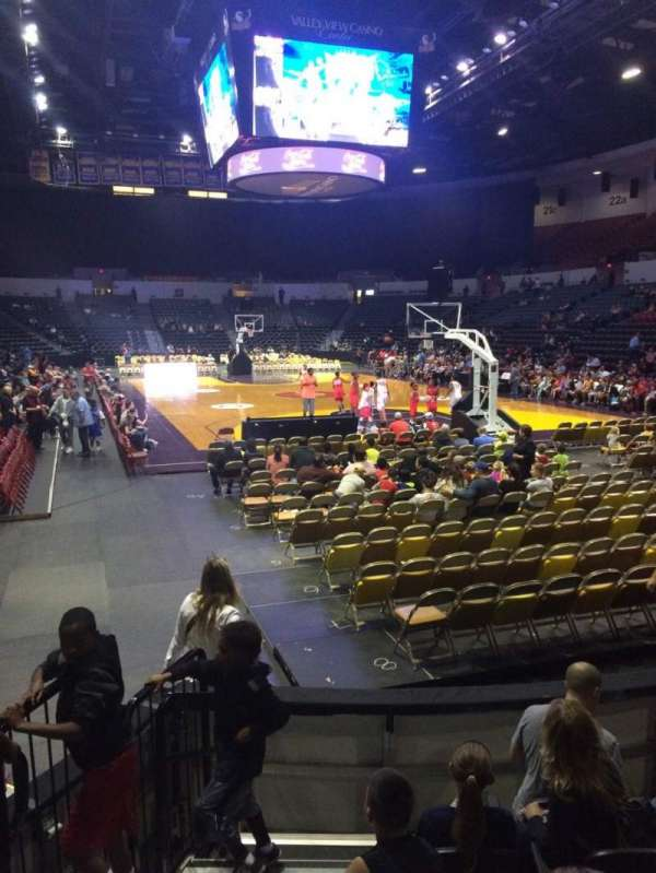 Valley View Casino Center, section: L8b, row: 6, seat: 11