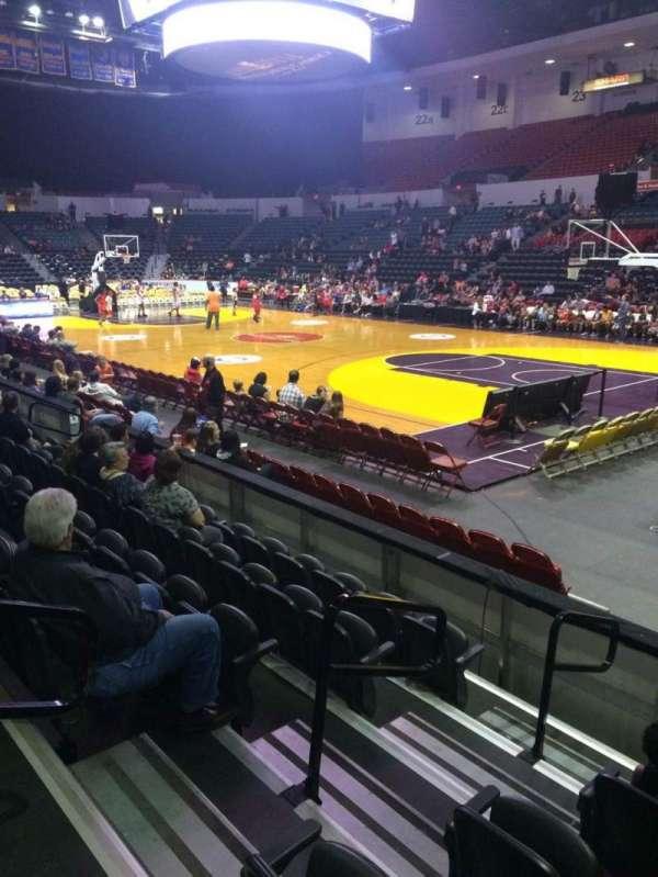 Pechanga Arena, section: LL10, row: 6, seat: 11