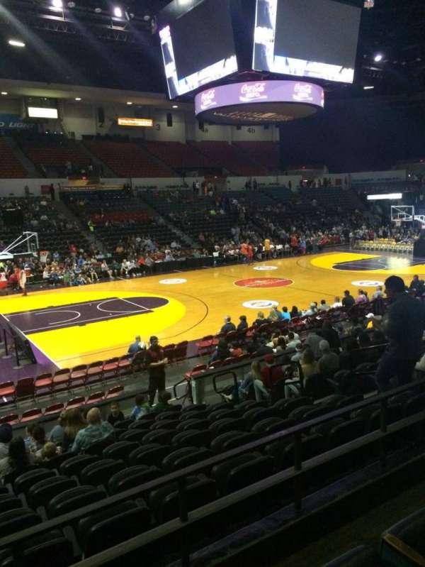 Pechanga Arena, section: L15, row: 3, seat: 9