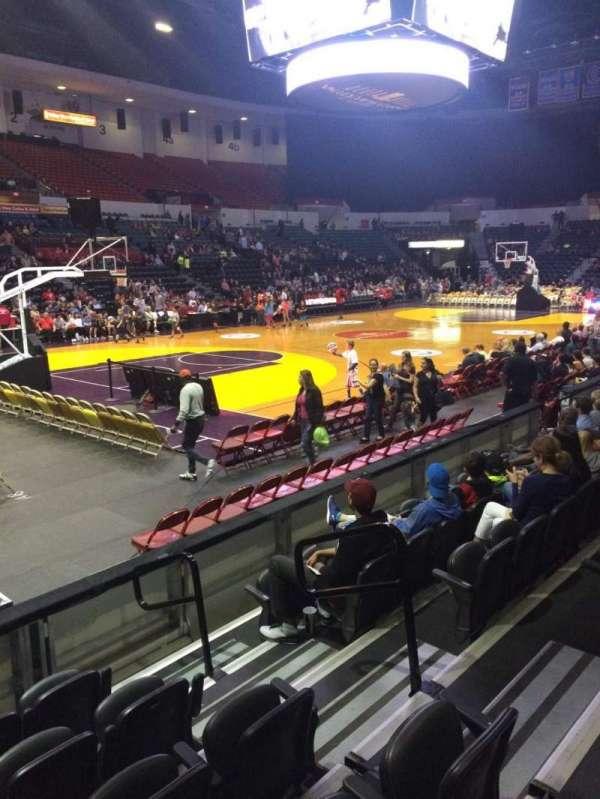 Pechanga Arena, section: LL16, row: 6, seat: 4