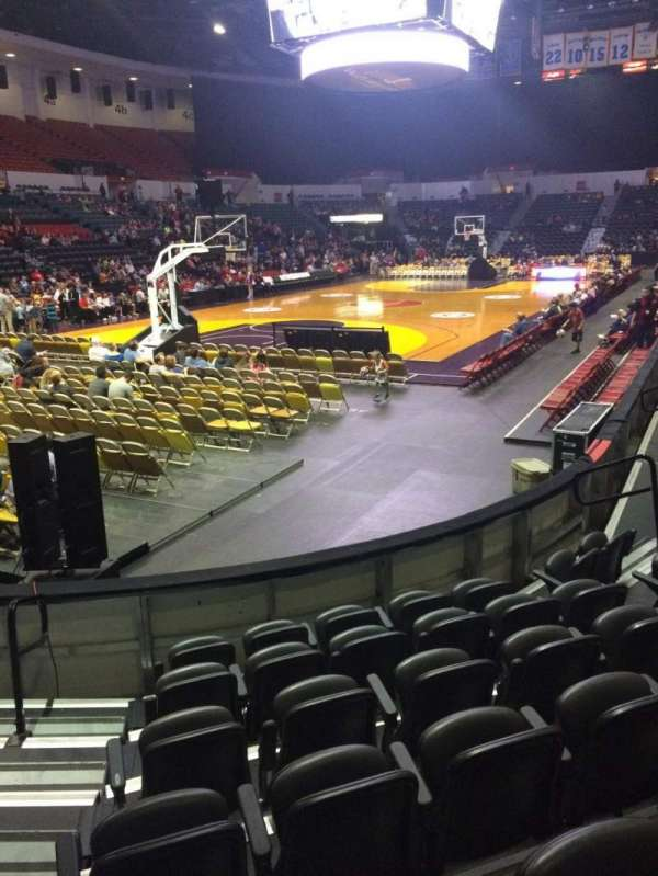 Valley View Casino Center, section: LL17, row: 7, seat: 15
