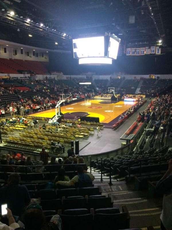 Pechanga Arena, section: L18a, row: 8, seat: 3