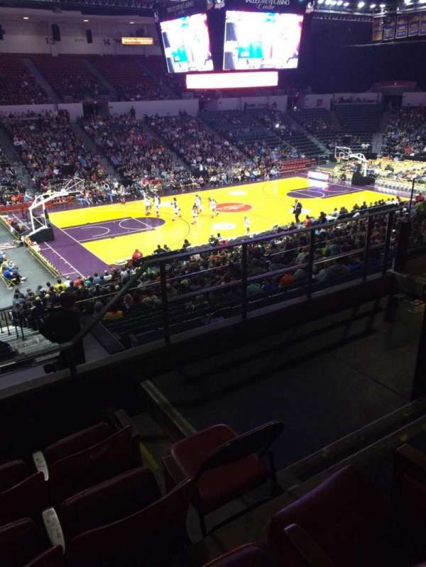 Valley View Casino Center, section: T4a, row: 5, seat: 3