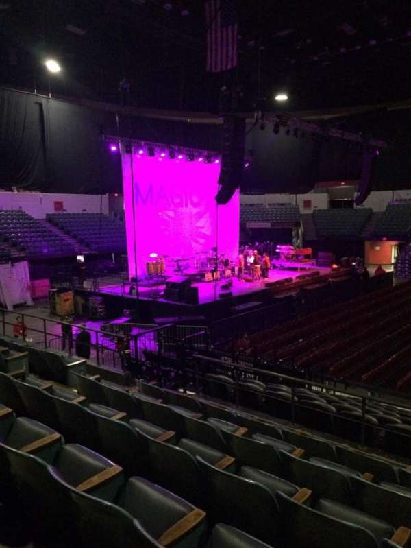 Pechanga Arena, section: L2, row: 5, seat: 6