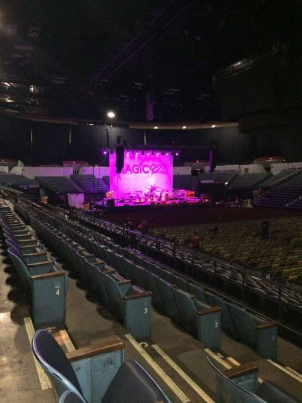 Pechanga Arena, section: L22, row: 5, seat: 6