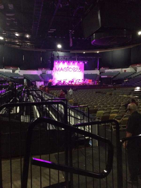 Pechanga Arena, section: LL21, row: 4, seat: 10