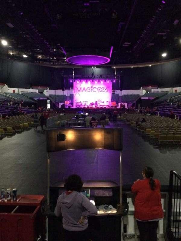 Pechanga Arena, section: LL19, row: 5, seat: 3