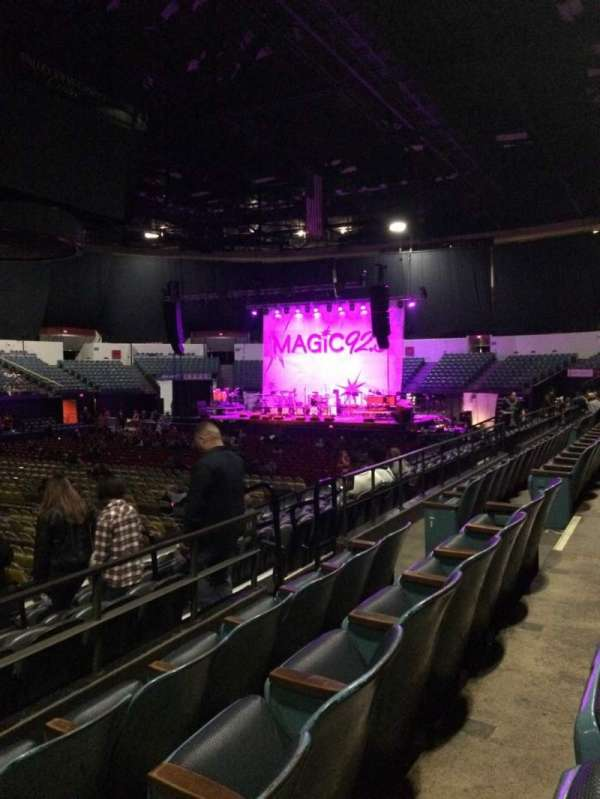 Valley View Casino Center, section: L15, row: 3, seat: 9