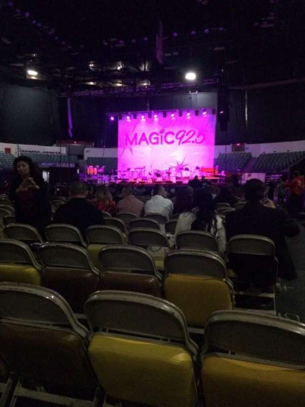 Pechanga Arena, section: F, row: 9