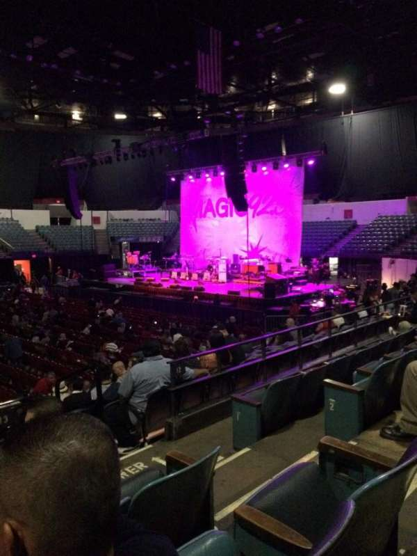 Valley View Casino Center, section: L13, row: 4, seat: 4