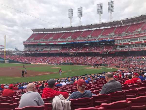Great American Ball Park, section: 114, row: Z, seat: 14