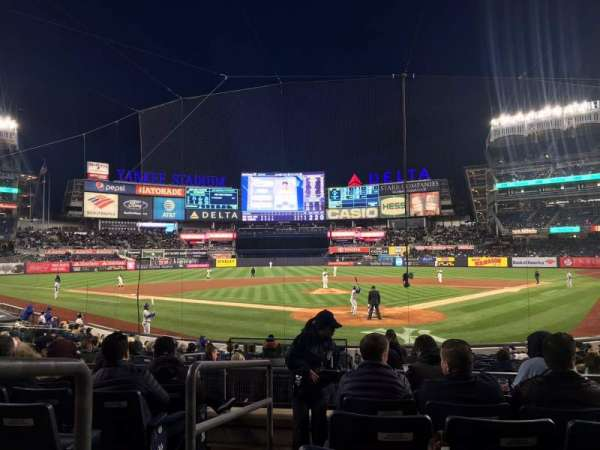Yankee Stadium, section: 121A, row: 7, seat: 1