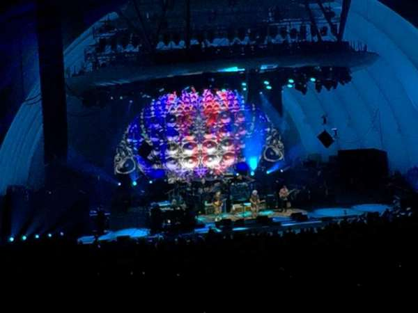 Hollywood Bowl, section: N3, row: 12, seat: 21