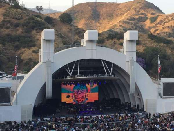 Hollywood Bowl, section: N3, row: 12, seat: 21/23