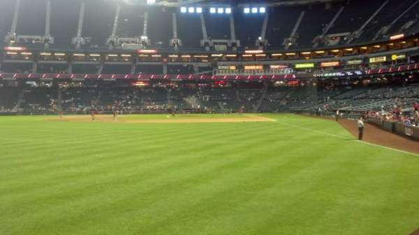 Chase Field, section: 139, row: 12, seat: 1