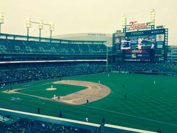 Comerica Park, section: 217, row: A, seat: 3