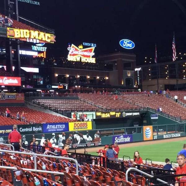 Busch Stadium, section: 161, row: 7, seat: 10