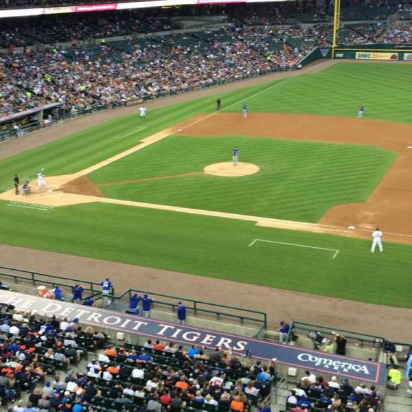 Comerica Park, section: 219, row: A, seat: 20