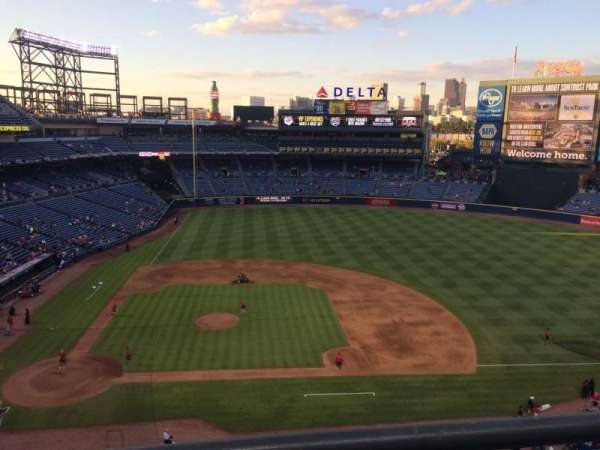 Turner Field, section: 409R, row: 1, seat: 13