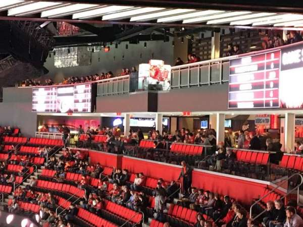 Little Caesars Arena, section: 207, row: 8, seat: 9