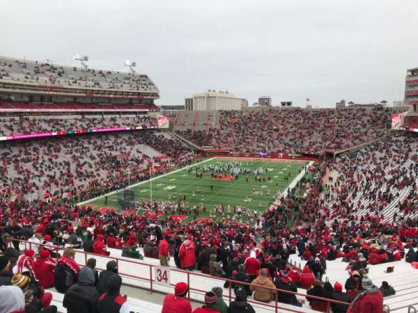 Memorial Stadium (Lincoln), section: 34, row: 91, seat: 10